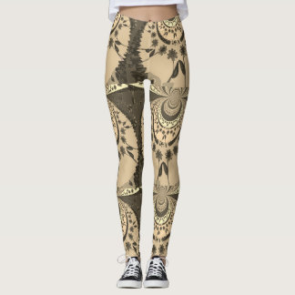 Lovely Amina Floral pattern design Leggings