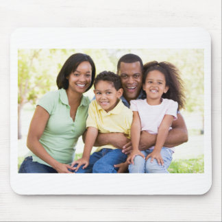 Lovely and Happy Family Mouse Pad