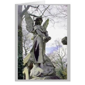 Lovely angel notecard! card
