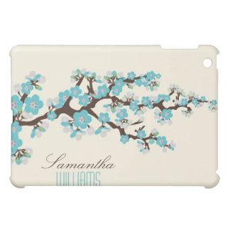Lovely Aqua Cherry Blossom  iPad Mini Cases