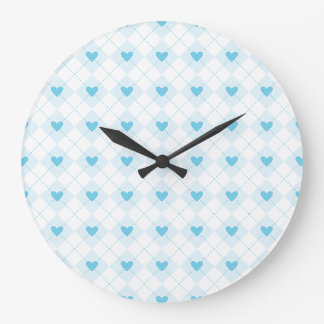 Lovely Argyle Large Clock