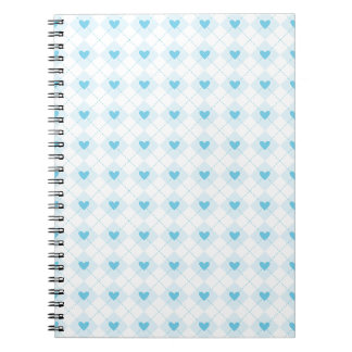 Lovely Argyle Notebook