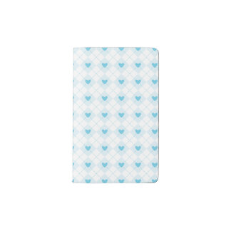 Lovely Argyle Pocket Moleskine Notebook