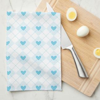 Lovely Argyle Tea Towel
