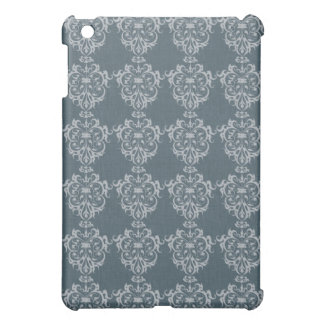 Lovely Art Nouveau Denim Floral Abstract iPad Mini Cover