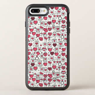 Lovely Assorted Hearts and Icons | Phone Case