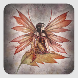 Lovely Autumn Fairy Stickers by Molly Harrison