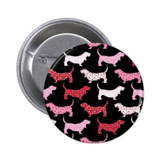 Lovely Bassets Pinback Button