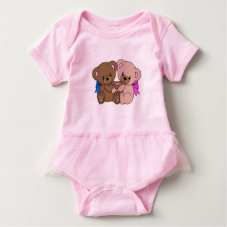 Lovely Bears Baby Bodysuit
