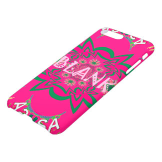 Lovely Blank Vibrant artwork floral design Colors iPhone 7 Plus Case