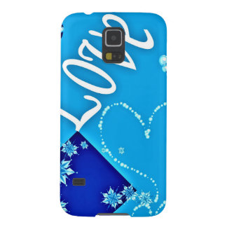 Lovely Blue Design Case For Galaxy S5