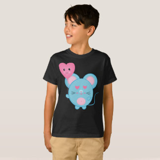 Lovely Bubbles Blue Pink Smile Cute Kids T-Shirt