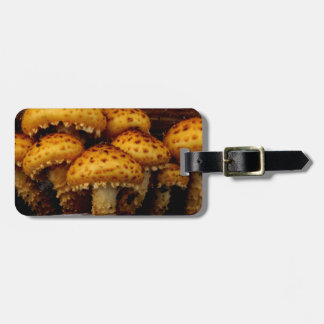 Lovely Bunch of Wild Mushrooms Luggage Tag