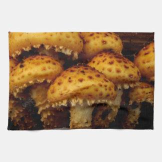 Lovely Bunch of Wild Mushrooms Tea Towel