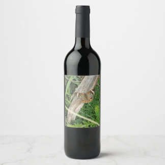 Lovely Butterfly Wine Label