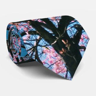Lovely cheery 'Sakura' blossom tree Tie
