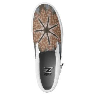 Lovely Cheetah African Animal Print pattern design Printed Shoes