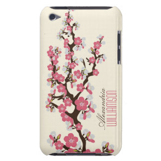 Lovely Cherry Blossoms (pink) iPod Touch Cases