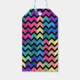 Lovely Chevron II Gift Tags
