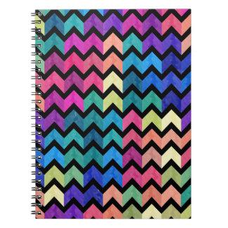Lovely Chevron II Notebook