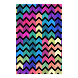 Lovely Chevron II Stationery