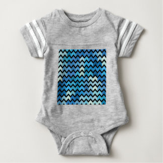 Lovely Chevron III Baby Bodysuit