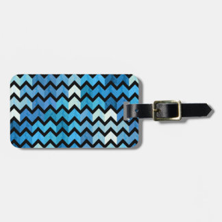 Lovely Chevron III Luggage Tag