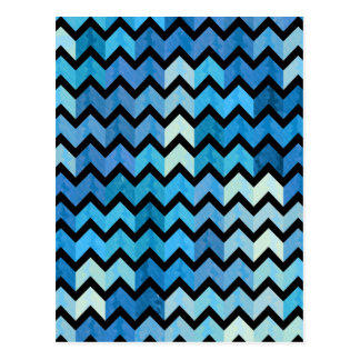 Lovely Chevron III Postcard
