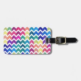 Lovely Chevron Luggage Tag