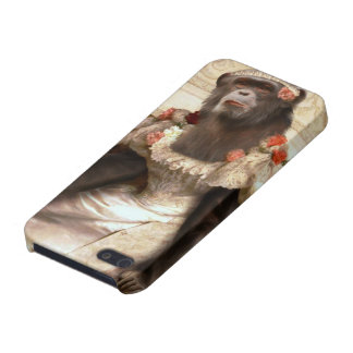 Lovely Chimp in Gown iPhone 5/5S Cover