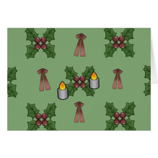 lovely Christmas Pattern Cards