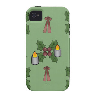 lovely Christmas Pattern iPhone 4/4S Cases