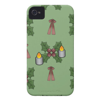 lovely Christmas Pattern iPhone 4 Case-Mate Cases