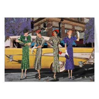 Lovely City Gals Card
