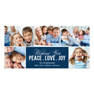 Lovely Collage Holiday Photo Card