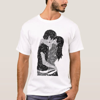 Lovely Crayon Couple T-Shirt