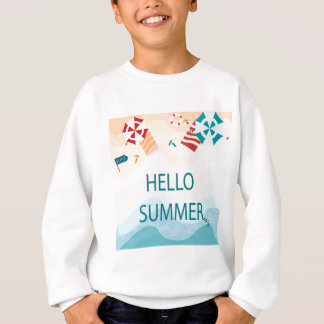 Lovely cute adorable sea beach funny item sweatshirt