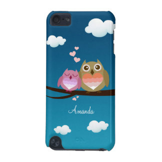 Lovely Cute Owl Couple Full of Love Heart iPod Touch 5G Covers
