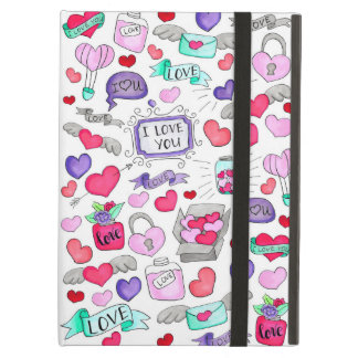 Lovely doodle iPad air case