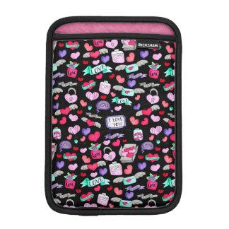 Lovely doodle iPad mini sleeve