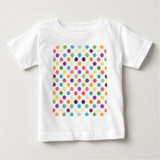 Lovely Dots Pattern VII Baby T-Shirt