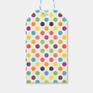 Lovely Dots Pattern VII Gift Tags