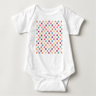 Lovely Dots Pattern XI Baby Bodysuit