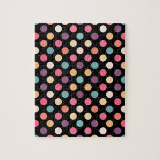 Lovely Dots Pattern XII Jigsaw Puzzle
