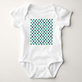 Lovely Dots Pattern XIV Baby Bodysuit