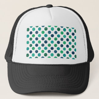 Lovely Dots Pattern XIV Trucker Hat