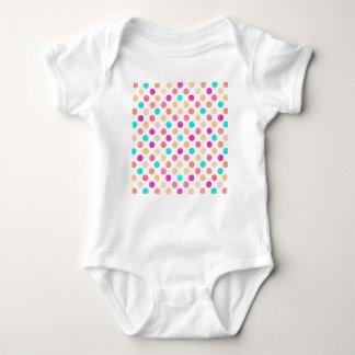Lovely Dots Pattern XVI Baby Bodysuit