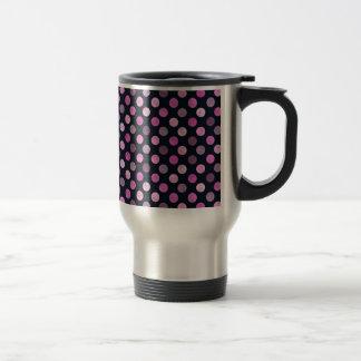 Lovely Dots Pattern XVII Travel Mug
