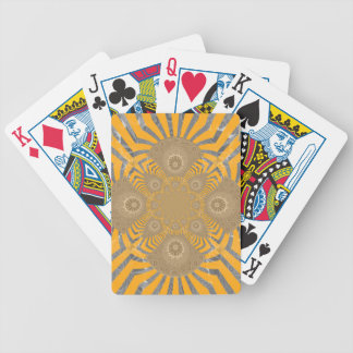 Lovely Edgy  amazing symmetrical pattern design Bicycle Playing Cards