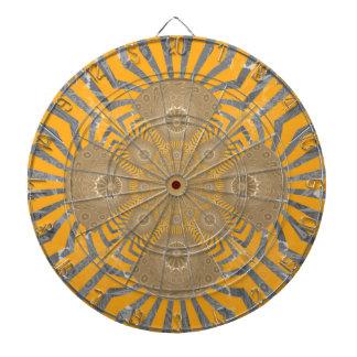 Lovely Edgy  amazing symmetrical pattern design Dartboard